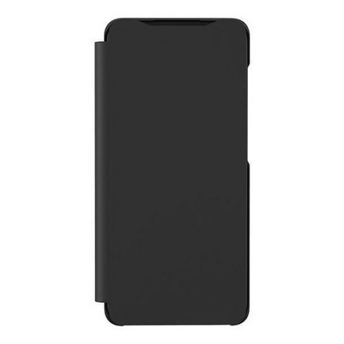 Samsung Galaxy A41 SM-A415F, Oldalra nyíló tok, fekete, gyári