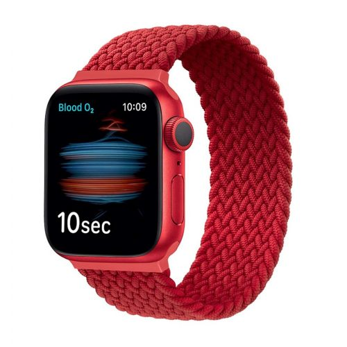 Xprotector fonott körpánt szíj Apple Watch 42/44mm, L (172 mm), piros