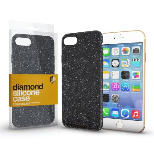 Xprotector Diamond szilikon hátlap tok, Samsung Galaxy A02s, fekete