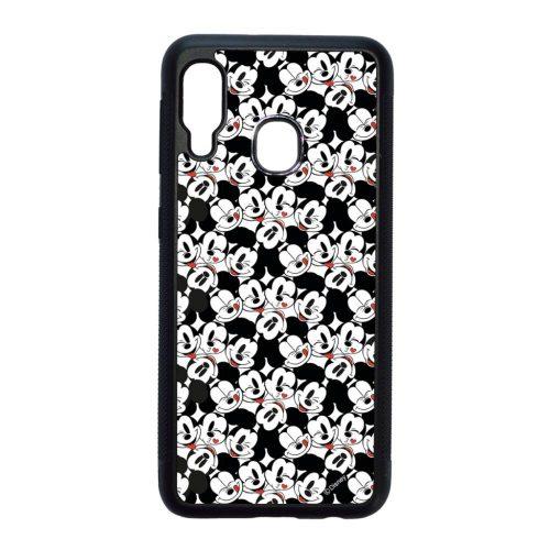 Disney Mickey Mouse Love - Samsung Galaxy A20e fekete szilikon tok