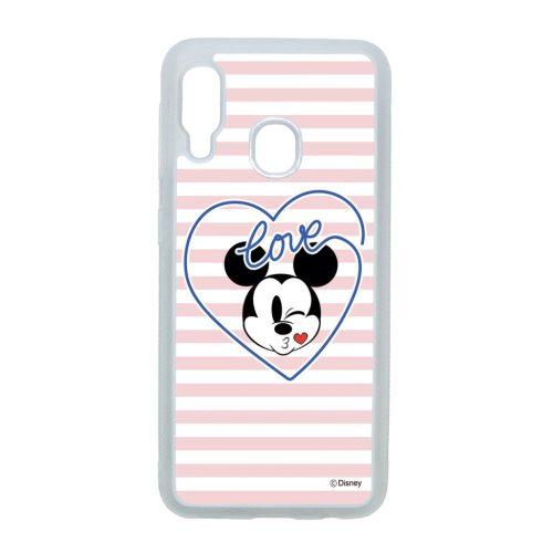 Disney Love you Mickey! - Samsung Galaxy A20e átlátszó szilikon tok
