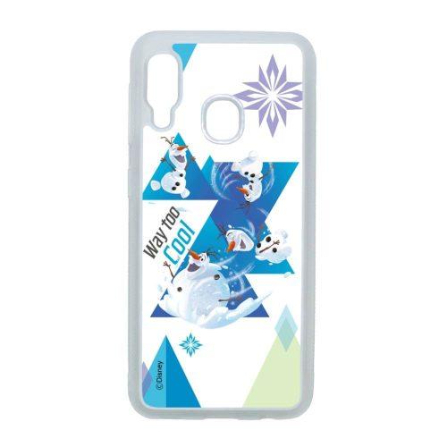 Disney Olaf - bolondozzunk - Samsung Galaxy A20e átlátszó szilikon tok