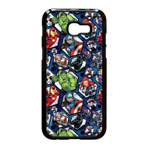 Marvel Avengers Heroes - Samsung Galaxy A3 (2017) fekete szilikon tok