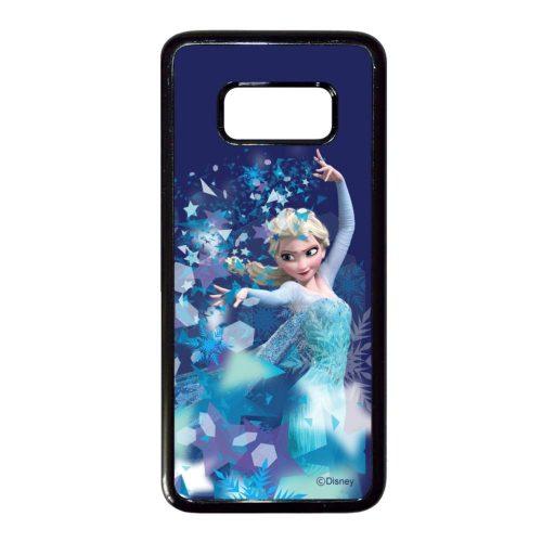 Disney Elsa - Legyen hó - Samsung Galaxy S8 Plus fekete szilikon tok